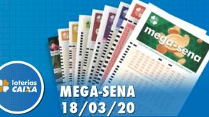 Resultado da Mega-Sena  - Concurso nº 2244 - 18/03/2020
