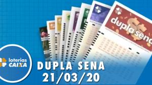 Resultado da Dupla Sena - Concurso nº 2065  - 21/03/2020