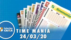 Resultado da Timemania - Concurso nº 1453 - 24/03/2020