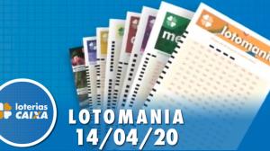 Resultado da Lotomania - Concurso nº 2065 - 14/04/2020