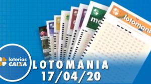 Resultado da Lotomania - Concurso nº 2066 - 17/04/2020