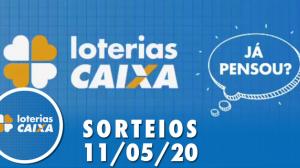 Loterias Caixa: Quina e Lotofácil 11/05/2020