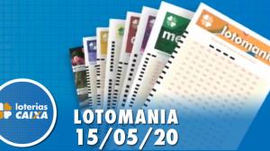 Resultado da Lotomania - Concurso nº 2074 - 15/05/2020