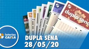 Resultado da Dupla Sena - Concurso nº 2084 - 28/05/202