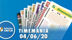 Resultado da Timemania - Concurso nº 1493 - 04/06/2020