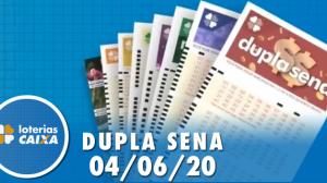 Resultado da Dupla Sena - Concurso nº 2087 - 04/06/2020