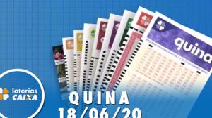 Resultado da Quina - Concurso nº 5298 - 18/06/2020