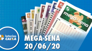 Resultado Mega-Sena - Concurso nº 2272 - 20/06/2020