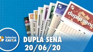 Resultado da Dupla Sena -  Concurso nº 2094 - 20/06/2020