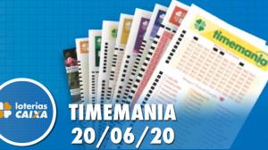 Resultado da Timemania - Concurso nº 1500 - 20/06/2020