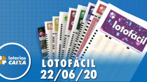 Resultado Lotofácil - Concurso nº 1983 - 22/06/2020