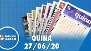 Resultado da Quina de São João concurso nº 5299 - 27/06/2020