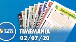Resultado da Timemania concurso nº 1505 - 02/07/2020