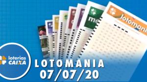 Resultado Lotomania - Concurso nº 2089 - 07/07/2020