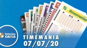 Resultado da Timemania - Concurso nº 1507 - 07/07/2020