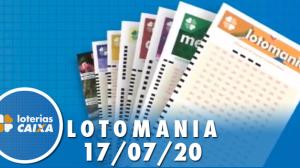 Resultado Lotomania - Concurso nº 2092 - 17/07/2020