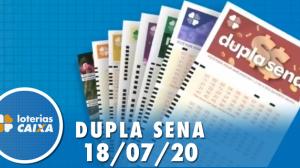 Resultado da Dupla Sena - Concurso nº 2105 - 18/07/2020