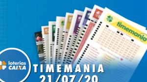 Resultado da Timemania - Concurso nº 1513 - 21/07/2020