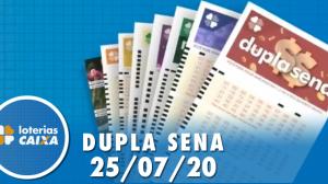 Resultado da Dupla Sena - Concurso nº 2109 - 25/07/2020