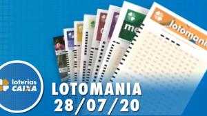 Resultado Lotomania - Concurso nº 2095 - 28/07/2020