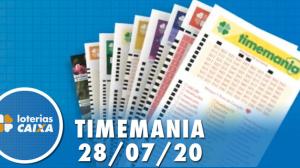 Resultado da Timemania - Concurso nº 1516 - 28/07/2020