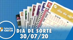 Resultado do Dia de Sorte - Concurso nº 336 - 30/07/2020