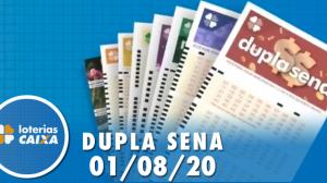 Resultado da Dupla Sena - Concurso nº 2112 - 01/08/2020