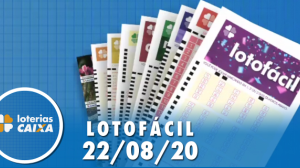 Resultado da Lotofácil - Concurso nº 2018 - 22/08/2020
