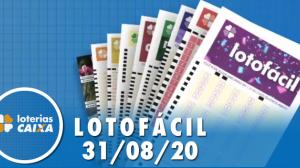 Resultado da Lotofácil - Concurso nº 2025 - 31/08/2020
