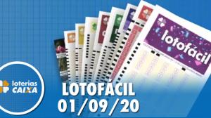 Resultado da Lotofácil - Concurso nº 2026 - 01/09/2020