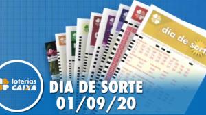 Resultado do Dia de Sorte - Concurso nº 350 - 01/09/2020
