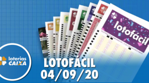 Resultado da Lotofácil - Concurso nº 2029 - 04/09/2020