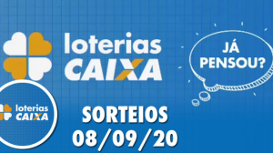 Loterias Caixa: Quina, Lotomania, Timemania e Dupla Sena 08/09