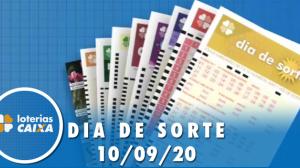 Resultado do Dia de Sorte - Concurso nº 354 - 10/09/2020