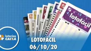 Resultado da Lotofácil - Concurso nº 2050 - 06/10/2020