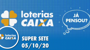 Resultado da Super Sete - Concurso nº 2 - 05/10/2020