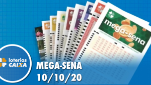 Resultado da Mega-Sena - Concurso nº 2307 - 10/10/2020