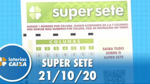 Resultado da Super Sete - Concurso nº 8 -  21/10/2020