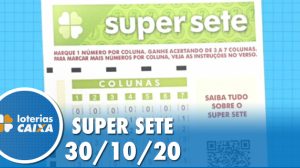 Resultado da Super Sete - Concurso nº12 -  30/10/2020