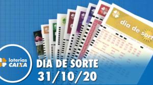 Resultado do Dia de Sorte - Concurso nº 376 - 31/10/2020