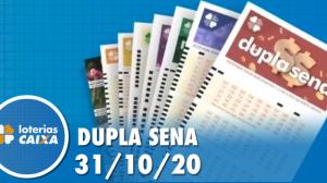 Resultado da Dupla Sena - Concurso nº 2151 - 31/10/2020