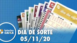 Resultado do Dia de Sorte - Concurso nº 378 - 05/11/2020