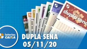 Resultado da Dupla Sena - Concurso nº 2153 - 05/11/2020