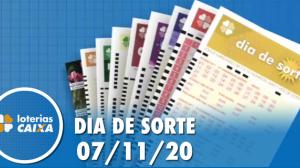 Resultado do Dia de Sorte - Concurso nº 379 - 07/11/2020