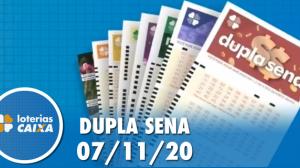Resultado da Dupla Sena - Concurso nº 2154 - 07/11/2020