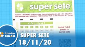 Resultado da Super Sete - Concurso nº19 -  18/11/2020