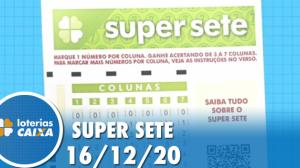 Resultado da Super Sete - Concurso nº31 - 16/12/2020
