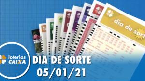 Resultado do Dia de Sorte - Concurso nº 402 - 05/01/2021