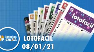 Resultado da Lotofácil - Concurso nº 2127 - 08/01/2021