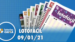 Resultado da Lotofácil - Concurso nº 2128 - 09/01/2021